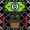 Growth Money Dollar Icon