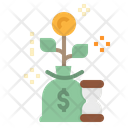 Growth Money Profit Icon