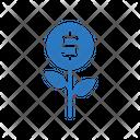 Growth Profit Dollar Icon