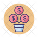 Mgrowth Growth Money Growth Icon