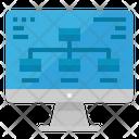 Diagram Computer Monitor Icon