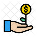 Growth Dollar Increase Icon
