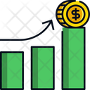 Money Growth Money Growth Icon