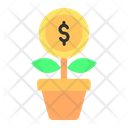 Growth Business Investment Icon