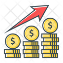 Finance Growth Increase Icon