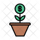 Growth Investment Dollar Icon