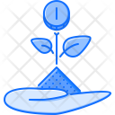 Hand Plant Startup Icon