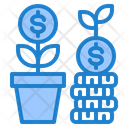 Money Growth Growth Plant Icon