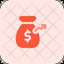 Money Growth Money Bag Money Saving Icon