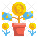 Money Growth Funding Investment Icon