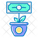 Money Growth Growth Investment Icon