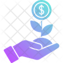 Money Growth Money Investment Icon