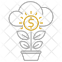 Money Growth Icon