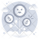 Business Growth Money Growth Financial Growth Icon
