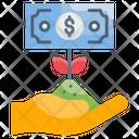 Money Growth Icon