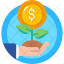 Growth Investment Finance Icon