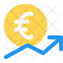 Money Growth Euro Icon