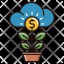 Growth Money Cash Icon