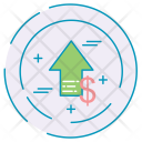 Growth Money Finance Icon
