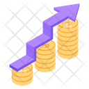 Financial Chart Financial Growth Money Growth Chart Icon