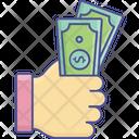 Money Hand Icon