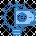 Light Blub Money Finance Icon