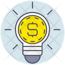 Business Money Idea Icon