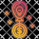 Money Balloon Idea Icon