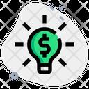 Money Idea Finance Idea Lamp Money Icon