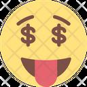 Money in Eye Icon