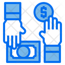 Money Hands Currency Icon
