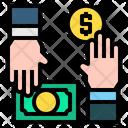 Money In Hands Money Hands Icon