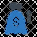 Bag Growth Money Icon