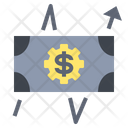 Graph Fluctuation Forex Icon