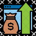 Marketing Goal Dartboard Icon