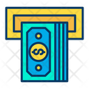 Money Insert Deposit Money Icon