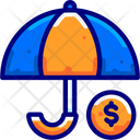 Umbrella Insurance Protection Icon