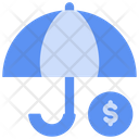 Umbrella Insurance Buke Icon