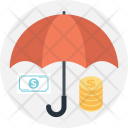 Insurance Business Coins Icon