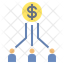 Connect Investment Money Icon