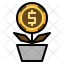 Money Investment Microloan Dollar Icon