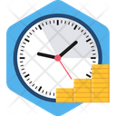 Money Is Time Icon