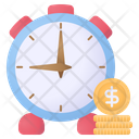 Money Is Time Money Time Icon