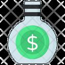 Money Jar Money Bottle Coin Bottle Icon