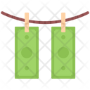 Laundering Money Banknote Icon
