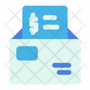 Mail Letter Payment Icon