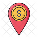 Money Location Icon