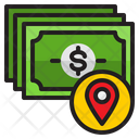 Money Location Location Payment Icon