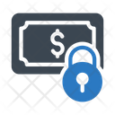 Lock Dollar Money Icon