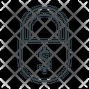 Confidentiality Finance Lock Icon